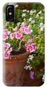 Bursting With Blooms IPhone Case
