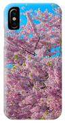 Bursting With Blossoms With A Hint Of Green IPhone Case
