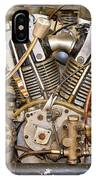 Burt Munro Special Indian Scout Engine IPhone Case