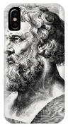 Bust Of Plato  IPhone Case
