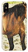 Buster Bronc IPhone Case
