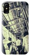 Busy Sidewalks IPhone Case