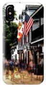 Busy St George Street IPhone Case