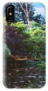 Butchart Gardens Is A Group Of Floral Display Brentwood Bay IPhone Case