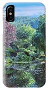 Butchart Gardens Is A Group Of Floral Display Gardens British Columbia Canada 3 IPhone Case
