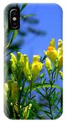 Butter And Egg Wildflower IPhone Case
