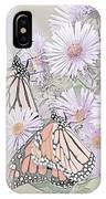 Butterflies And Bee IPhone Case