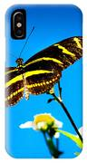 Butterflies And Blue Skies IPhone Case