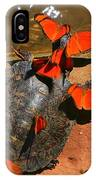 Butterflies And Turtle IPhone Case