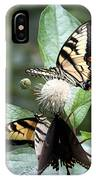 Butterflies Lunch Date IPhone Case