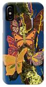 Butterflies On A 2015 Rose Parade Float 15rp047 IPhone Case