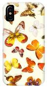 Butterflies Square IPhone Case