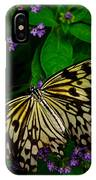 Butterfly - Yellow Green Purple IPhone Case