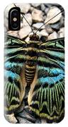 Butterfly Amongst Stones IPhone Case