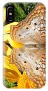 Butterfly And Daisies IPhone Case