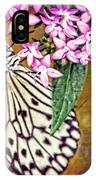 Butterfly Art - Hanging On - By Sharon Cummings IPhone Case