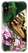 Butterfly At Work IPhone Case