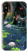 Butterfly Ball Pond IPhone Case