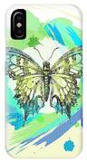 Butterfly Circles-jp2377 IPhone Case