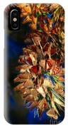 Butterfly Cluster Fractal IPhone Case