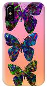 Butterfly Collage IIII IPhone Case