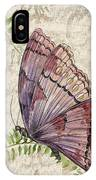Butterfly Daydreams-b IPhone Case