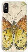 Butterfly Daydreams-c IPhone Case