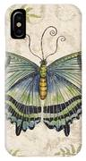 Butterfly Daydreams-d IPhone Case