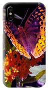 Butterfly Don't Fly Away IPhone Case