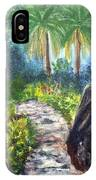 Butterfly Garden At Gumbo Limbo IPhone Case