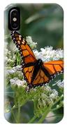 Butterfly Garden - Monarchs 09 IPhone Case