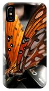 Butterfly Home At 7 IPhone Case