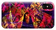 Butterfly In Abstract Dsc2977 Square IPhone X Case