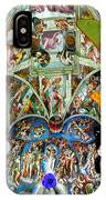 Butterfly In Cappella Sistina Sistinechapel IPhone Case