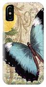 Butterfly Kisses-a IPhone Case