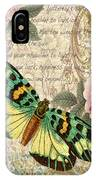 Butterfly Kisses-b IPhone Case