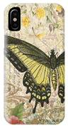 Butterfly Kisses-c IPhone Case