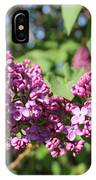 Butterfly Lilac IPhone Case
