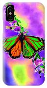 Butterfly - Monarch - Photopower 1551 IPhone Case