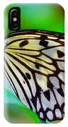 Butterfly On A Leaf IPhone Case