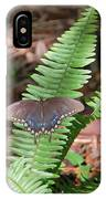 Butterfly On Fern IPhone Case