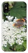 Butterfly On Lace IPhone Case