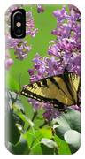 Butterfly On Lilac IPhone X Case