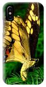 Butterfly On Pine IPhone Case