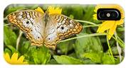 Butterfly On Yellow Flower IPhone Case