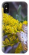 Butterfly On Yellow IPhone Case
