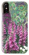 Butterfly Park Flowers Painted Wall Las Vegas IPhone Case