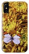 Butterfly Resting On Mums IPhone Case