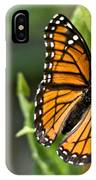 Butterfly Scene IPhone Case