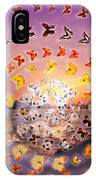 Butterfly Sunset IPhone Case